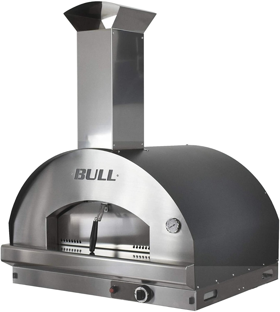Bull Outdoor Products Extra Large Gas Pizza Oven and Chimney - 77650